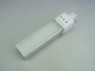 LED Stablampe 7 Watt G23 quadrat