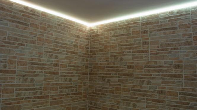dusche led streifen led direktch die beleuchtungsprofis led - Dusche Led Leiste