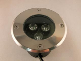 LED Bodenleuchte 3 Watt dimmbar