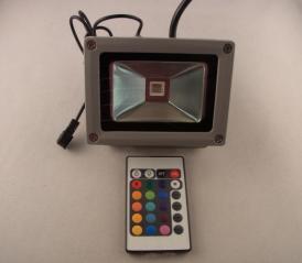 LED Scheinwerfer 10 Watt multicolor