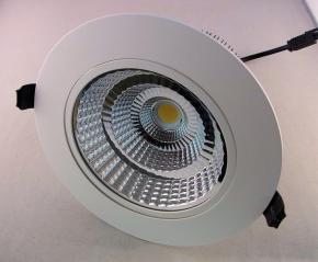 LED Einbauspot weiss 20 Watt verstellbar