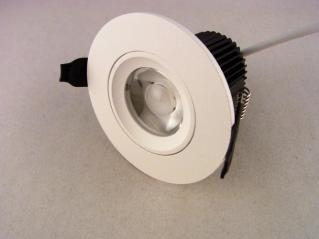 LED Einbauspot weiss 5 Watt dimmbar