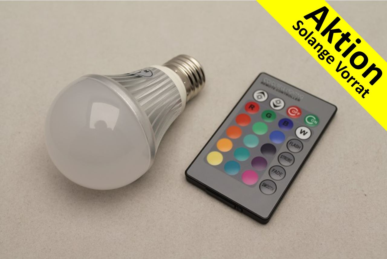 led beleuchtung beratung konzepte verkauf led birne 5 watt farbig online. Black Bedroom Furniture Sets. Home Design Ideas